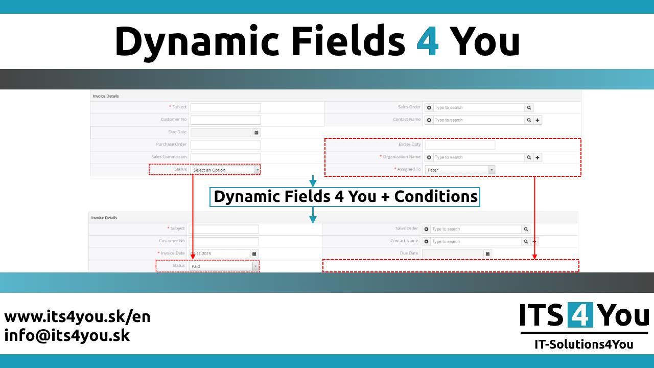 CRM vtiger 6 extension | Dynamic Fields 4 You